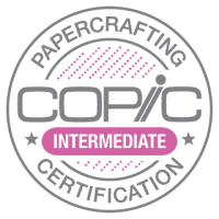 Copic Papercrafting Certification Intermediate