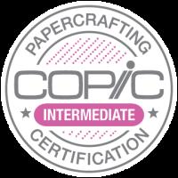 Copic Papercrafting Certification Intermediate