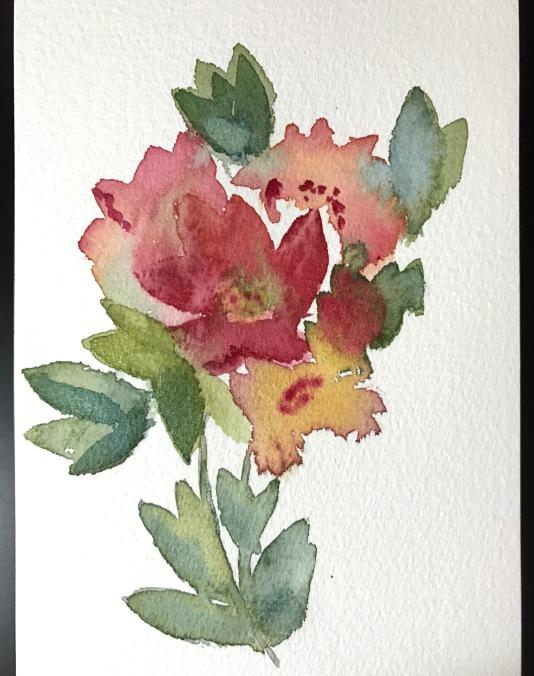 expressive florals